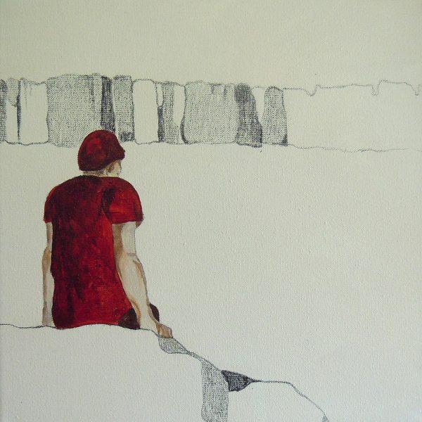 Das Große im Kleinen 4, 20 x 20 cm, Mischtechnik, 2012