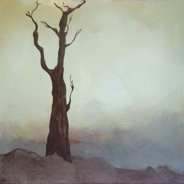 Das Große im Kleinen 16, 20 x 20 cm, Acryl auf Leinen, 2012