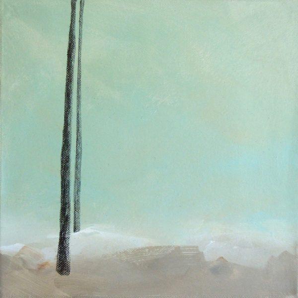 Das Große im Kleinen 5, 20 x 20 cm, Mischtechnik, 2012