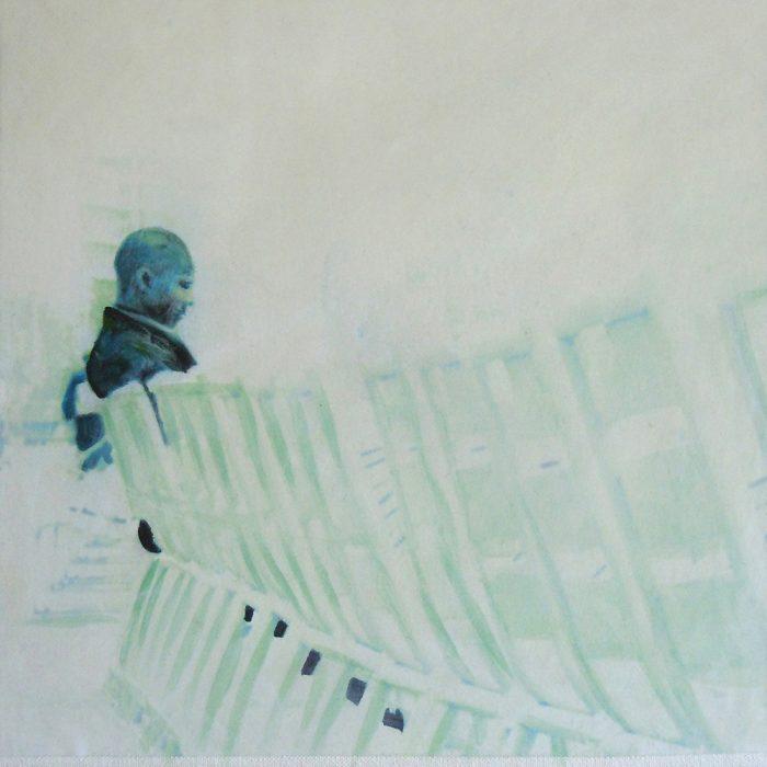 Das Große im Kleinen 1, 20 x 20 cm, Mischtechnik, 2012