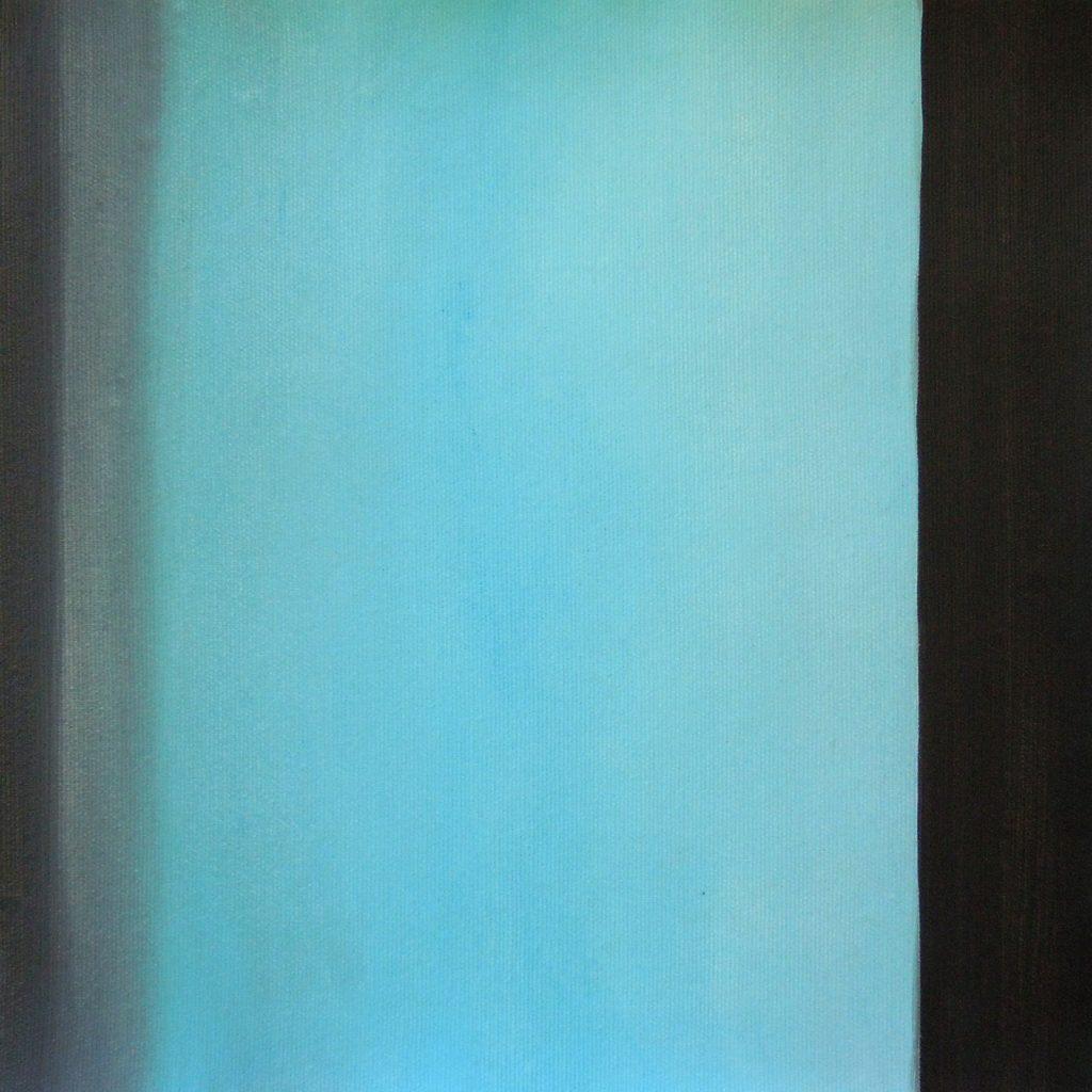 Inspiration Richter, 30 x 30 cm, Acryl auf Leinen