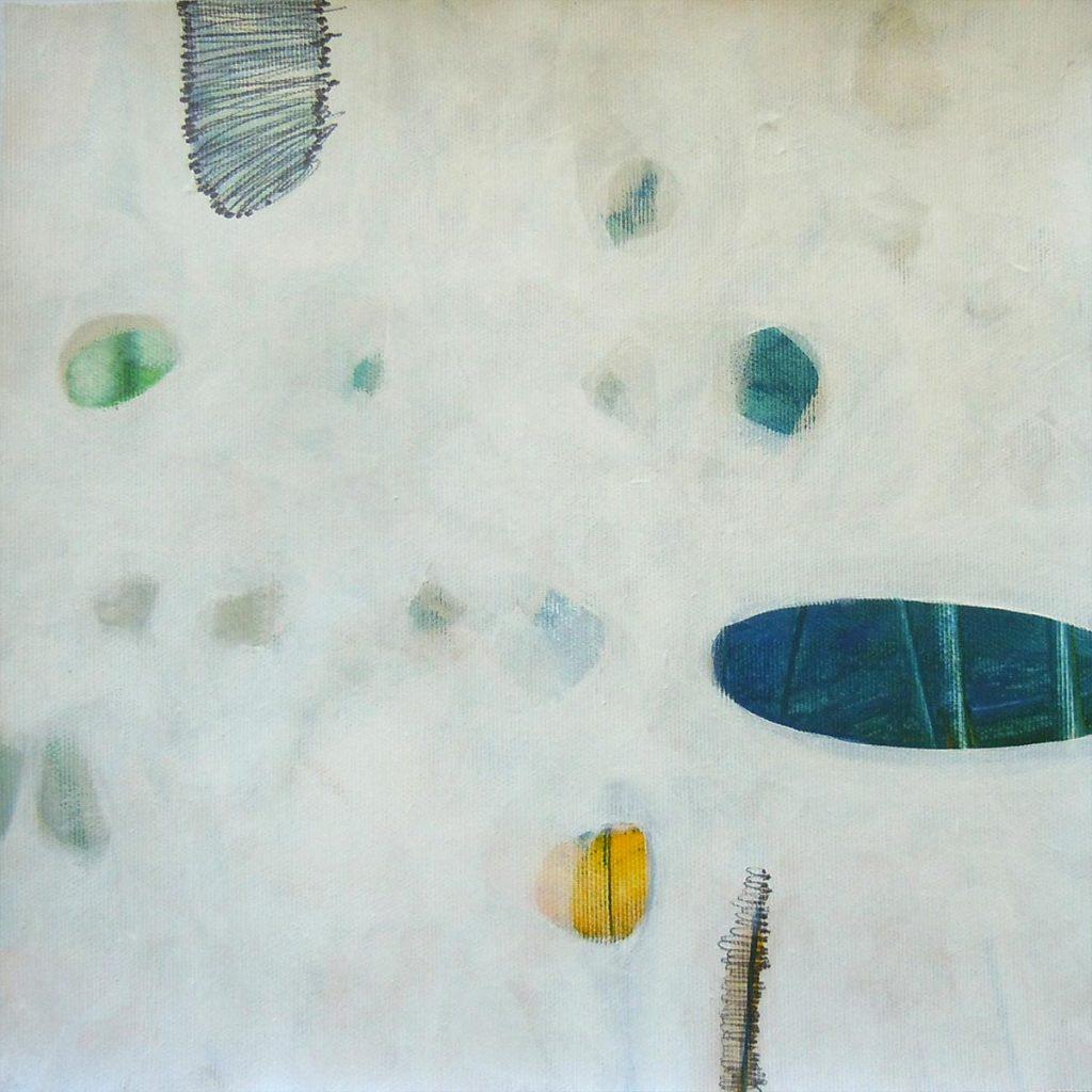 Reduktion Konzentration 20, 30 x 30 cm, Acryl auf Leinen