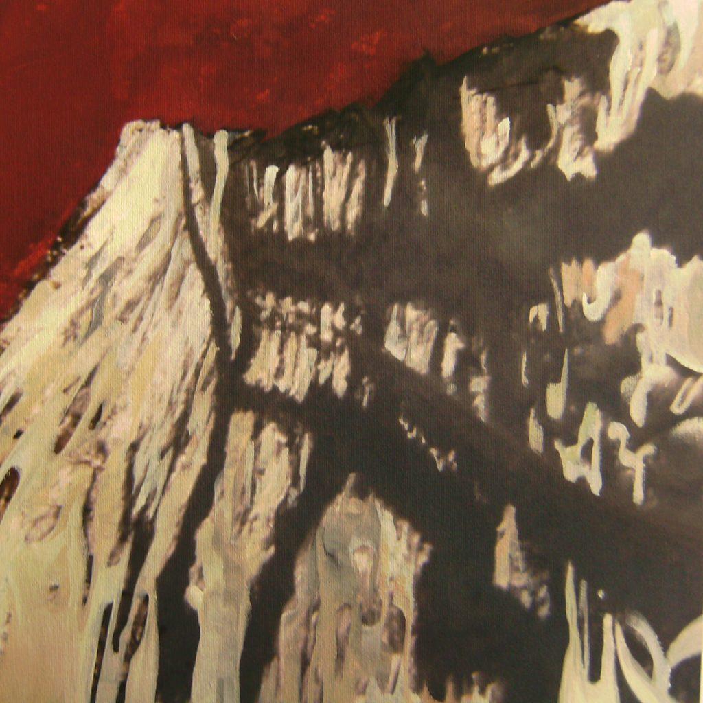 Schatten, 30 x 30 cm, Mischtechnik, 2009