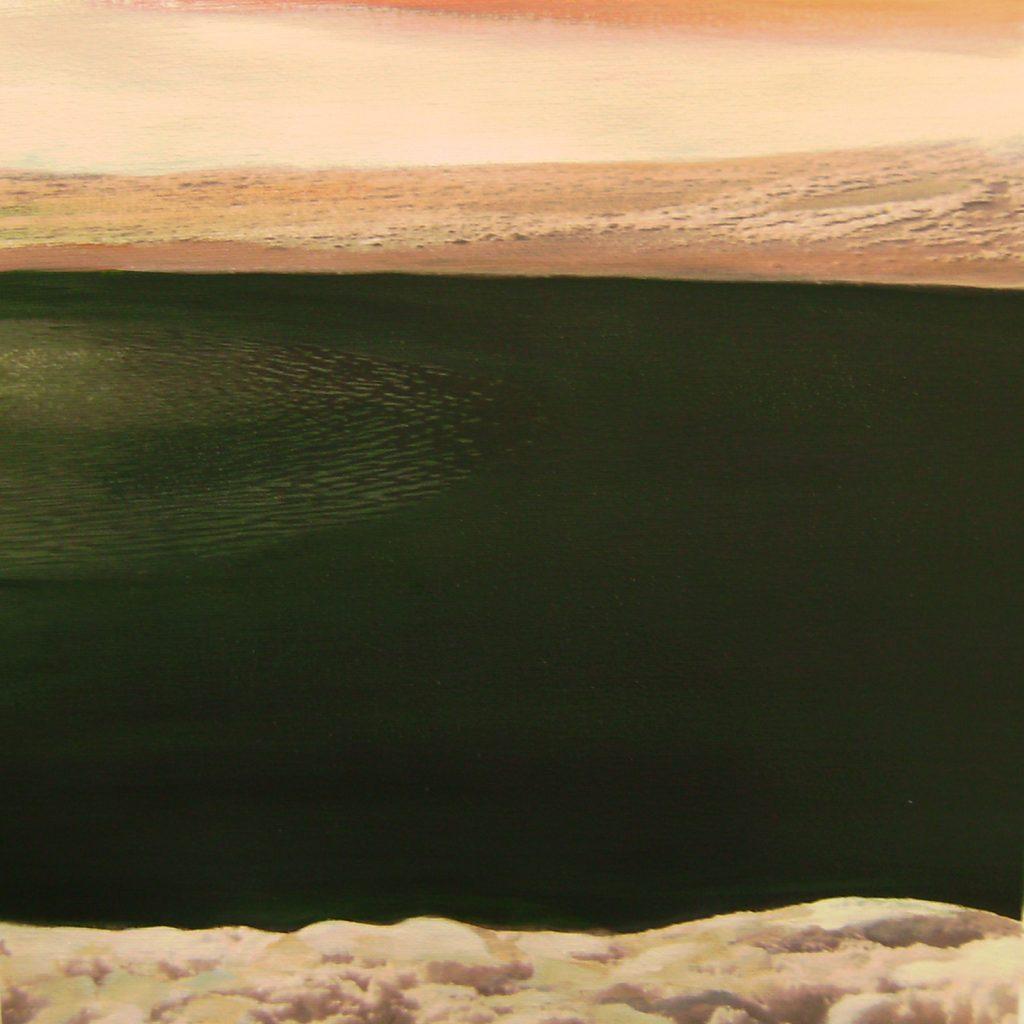 See (Nassereith), 30 x 30 cm, Mischtechnik, 2009