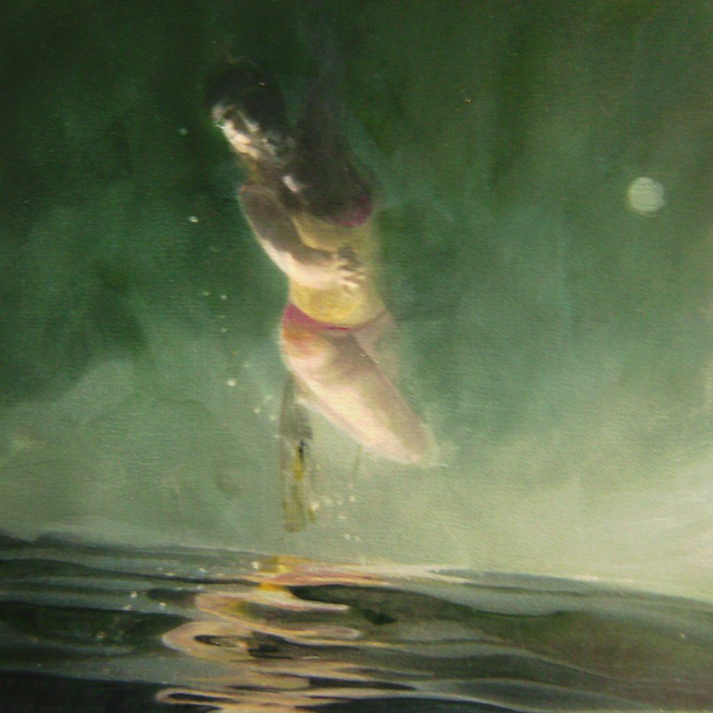 Self, 30 x 30 cm, Mischtechnik, 2009