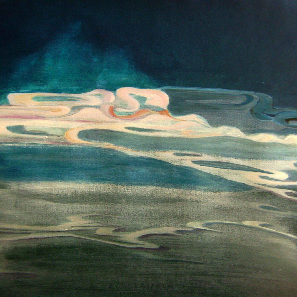 Sky, 30 x 30 cm, Mischtechnik, 2009