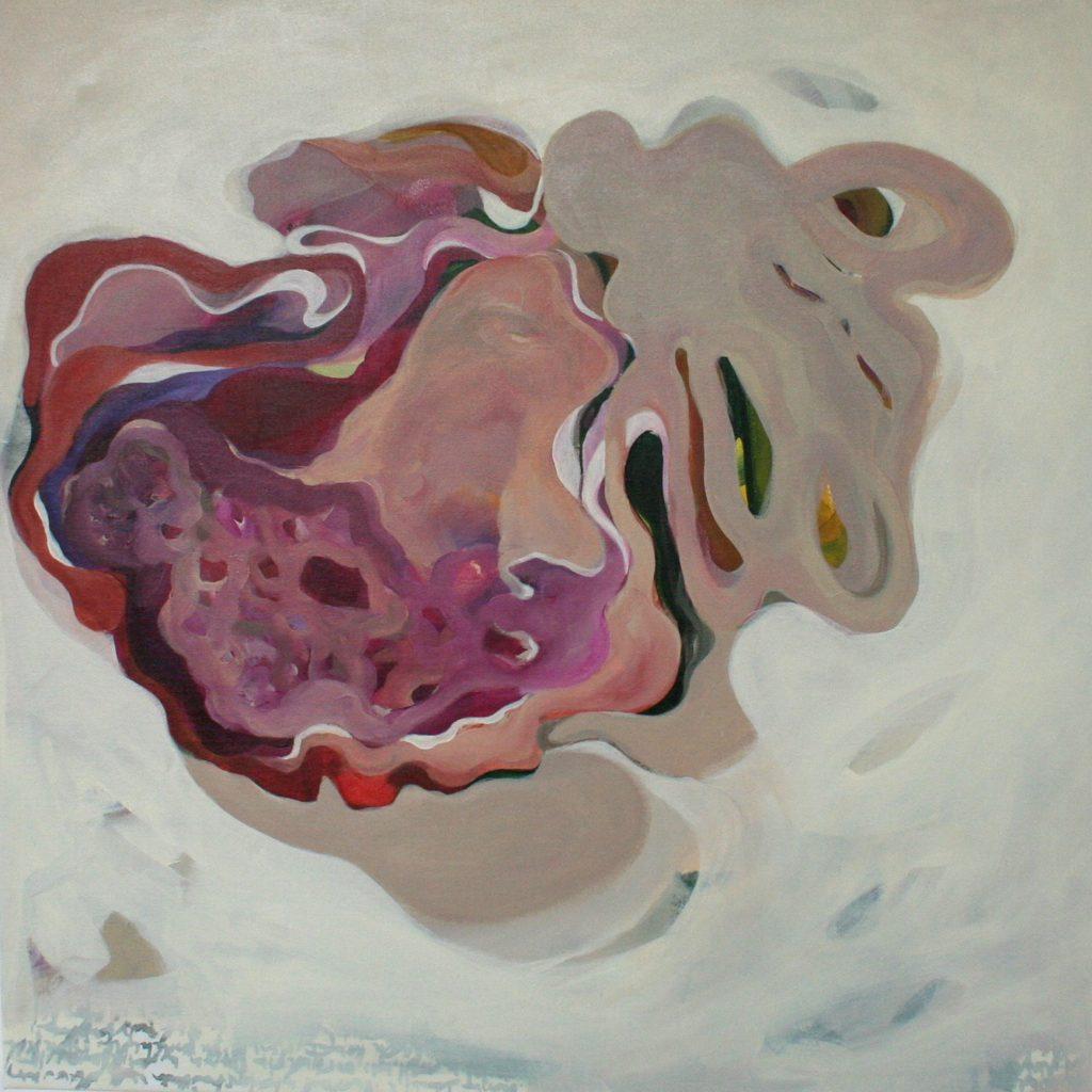 A tue mani, 70 x 70 cm, Acryl auf Leinen, 2008