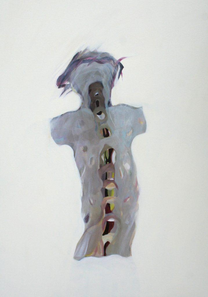 12 von 14, 100 x 70 cm, Acryl auf Leinen, 2008