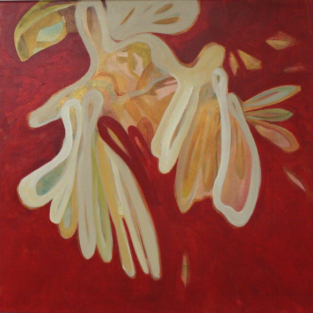 Salve Regine, 70 x 70 cm, Acryl auf Leinen, 2008