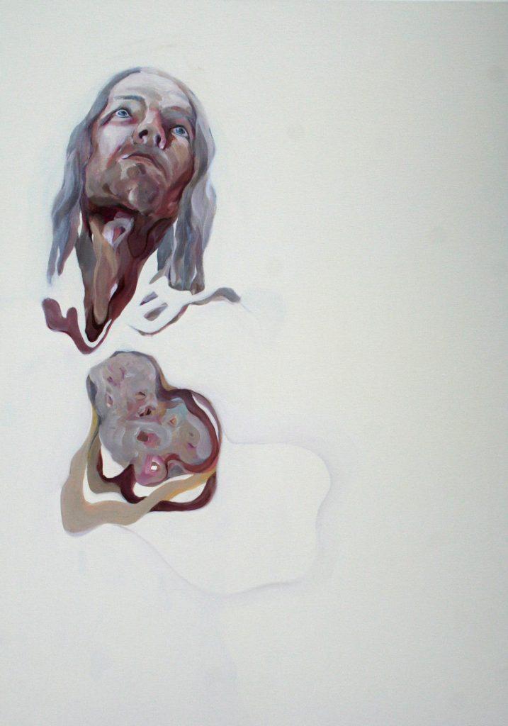 14 von 14, 100 x 70 cm, Acryl auf Leinen, 2008
