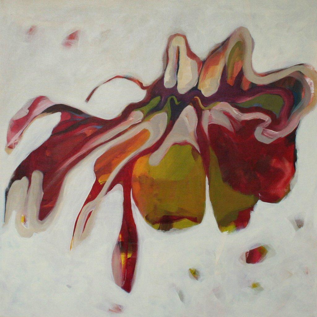 Famiglia, 70 x 70 cm, Acryl auf Leinen, 2008