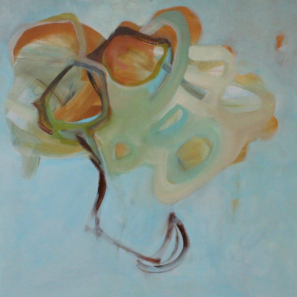 Respirazione, 70 x 70 cm, Acryl auf Leinen, 2008
