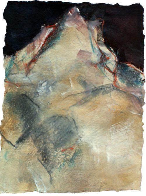 Up's (Patteriol), 24 x 21 cm, Acryl auf Büttenpapier, 2011