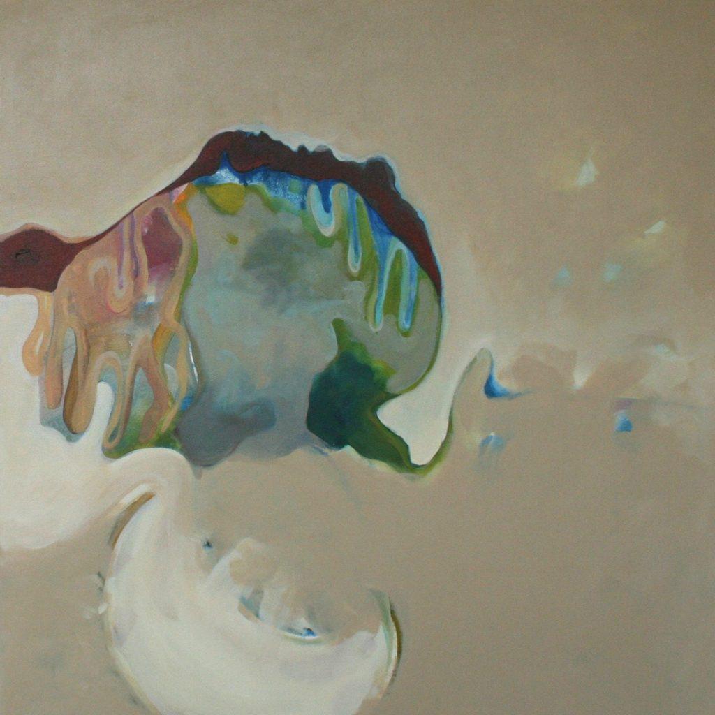 Liberazione, 70 x 70 cm, Acryl auf Leinen, 2008