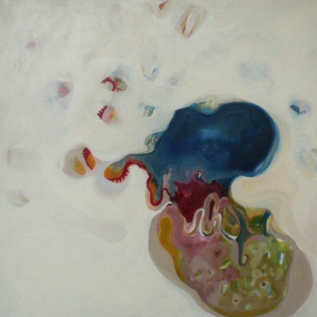 Rinascita, 70 x 70 cm, Acryl auf Leinen, 2008