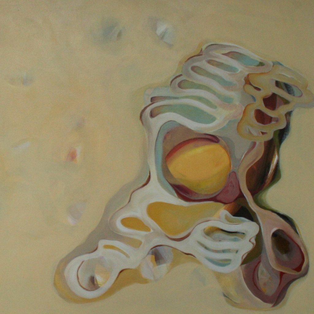 Viaggio, 70 x 70 cm, Acryl auf Leinen, 2008