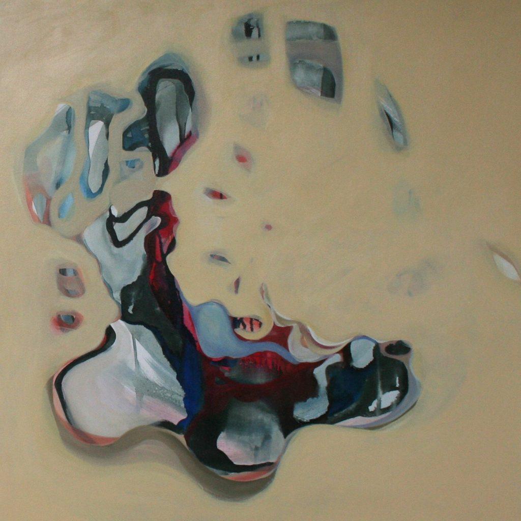 Mondo esterno, 70 x 70 cm, Acryl auf Leinen, 2008
