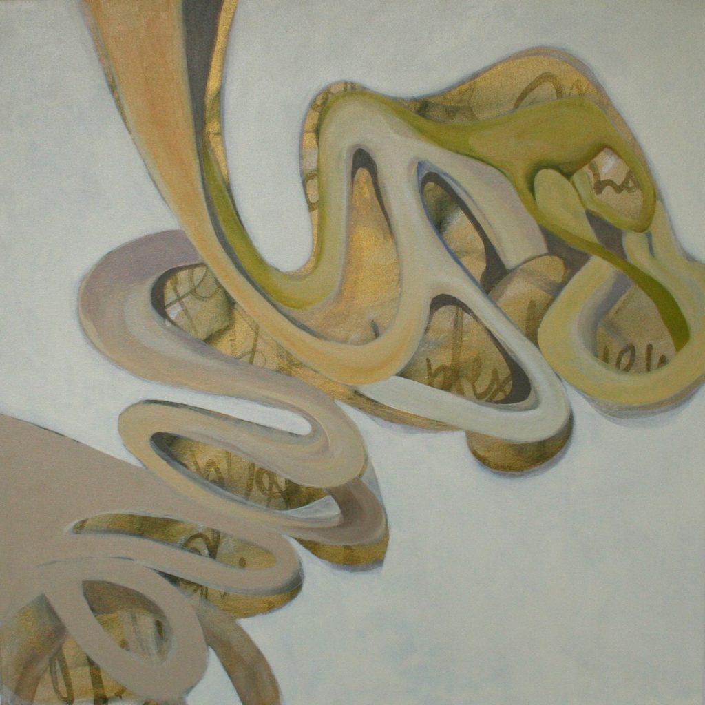 Aprile, 70 x 70 cm, Acryl auf Leinen, 2008