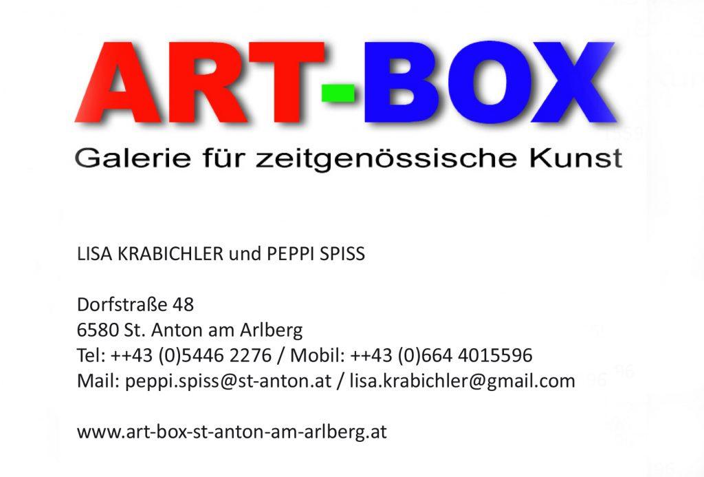 ART-BOX, Galerie für zeitgenössische Kunst in St. Anton a. A.