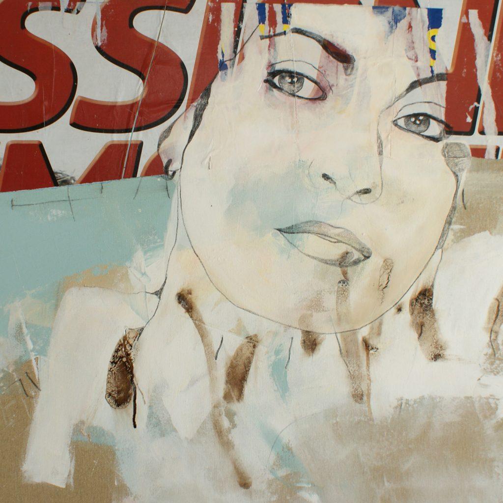 Passione, 60 x 80 cm (Ausschnitt), Mischtechnik, 2010