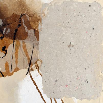 Die Entwicklung der Schrift, 30 x 30 cm, Mischtechnik, 2010