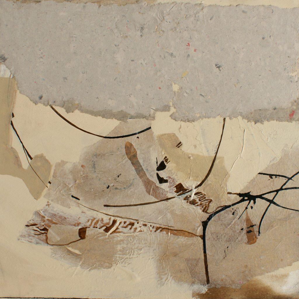 Szenenwechsel, 30 x 30 cm, Mischtechnik, 2010