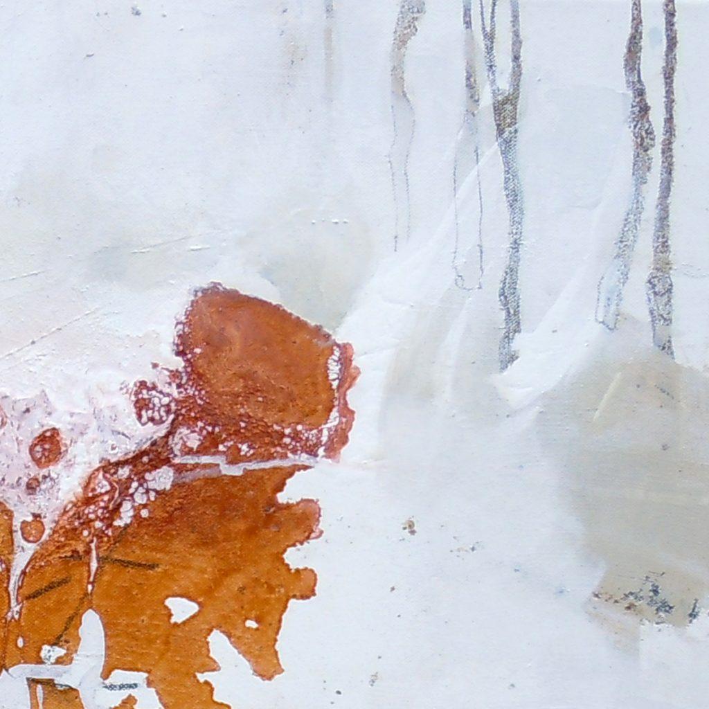 I wie Insieme, 30 x 90 cm (Ausschnitt), Mischtechnik, 2011