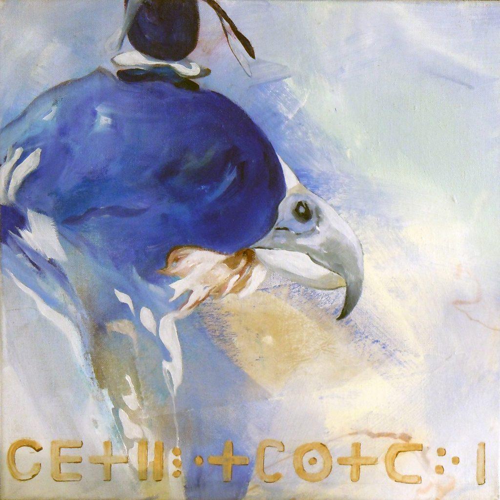 Vertrauen, 50 x 50 cm, Mischtechnik, 2010