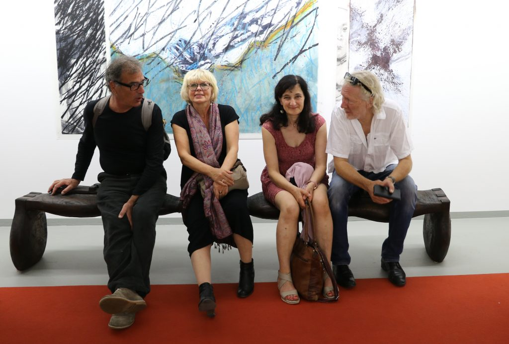KünstlerInnen: Maurzio Bonato, Gabriele Fischer, Minu Ghedina, Peppi Spiss