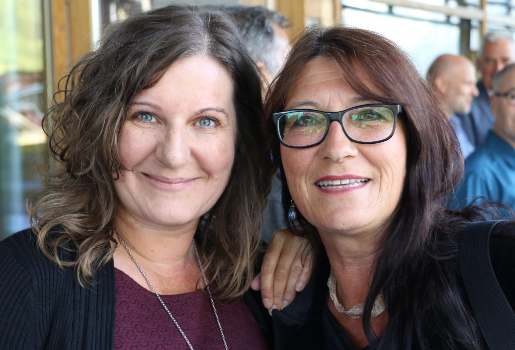 Freundinnen: Lisa Krabichler und Kersten Thieler-Küchle