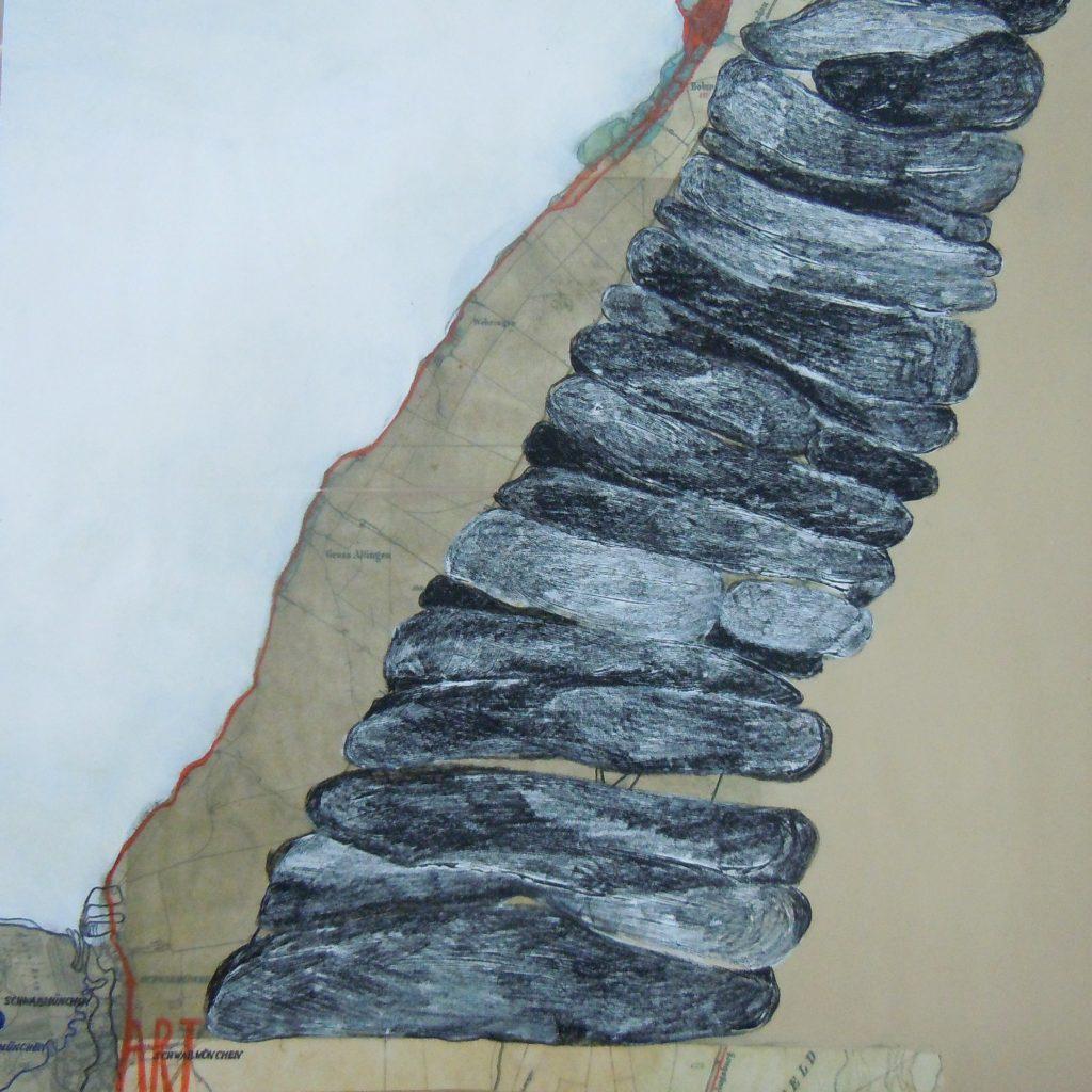 ART, 30 x 30 cm, Mischtechnik, 2017