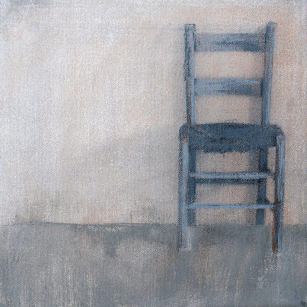Atelier, 20 x 20 cm, Mischtechnik, 2012