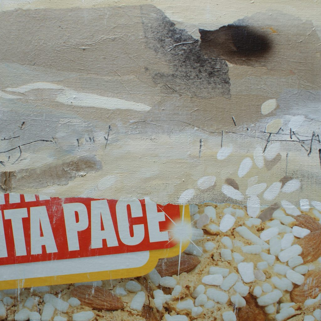 Pace, 50 x 50 cm, Mischtechnik, 2010