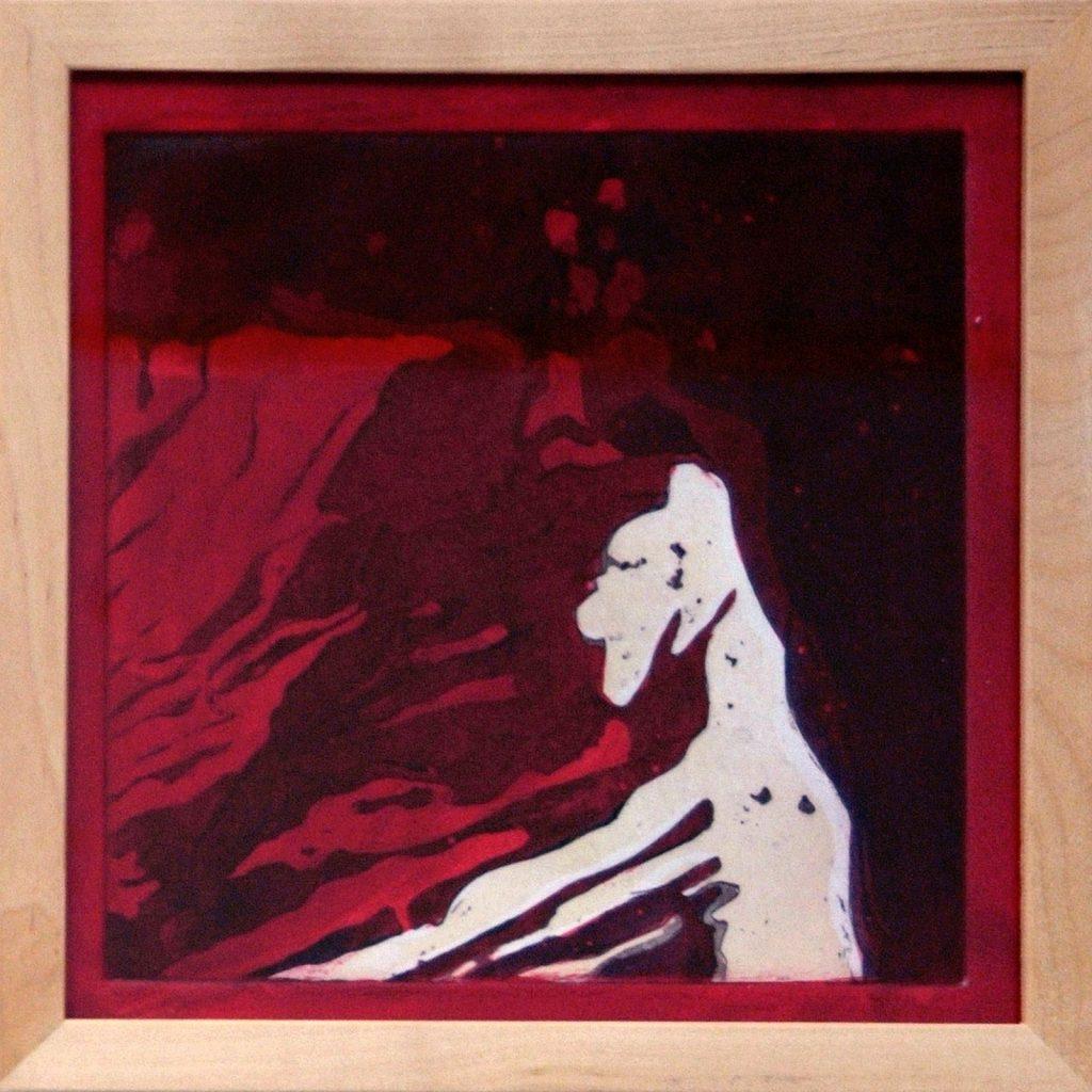 Bello, 20 x 20 cm, Mischtechnik, 2008