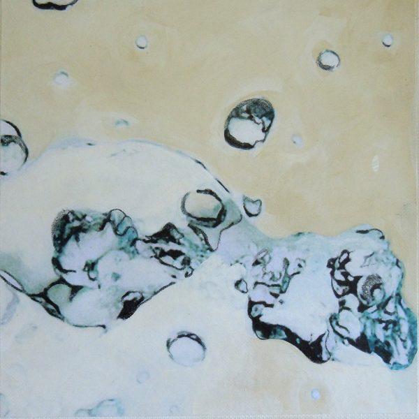 Das Große im Kleinen 12, 20 x 20 cm, Mischtechnik, 2012