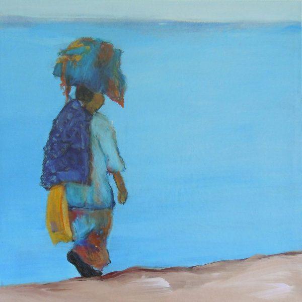 Das Große im Kleinen 13, 20 x 20 cm, Mischtechnik, 2012