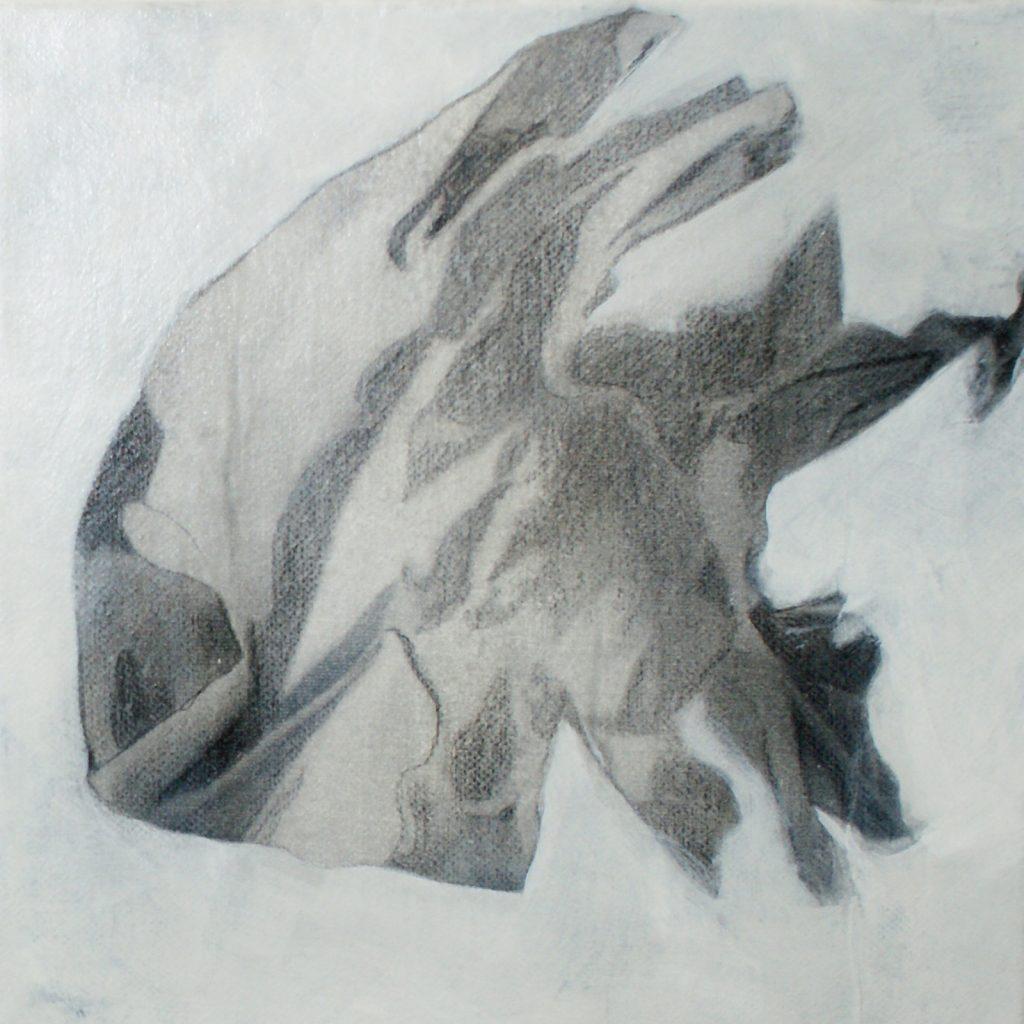 Drachenfisch, 20 x 20 cm, Mischtechnik, 2012