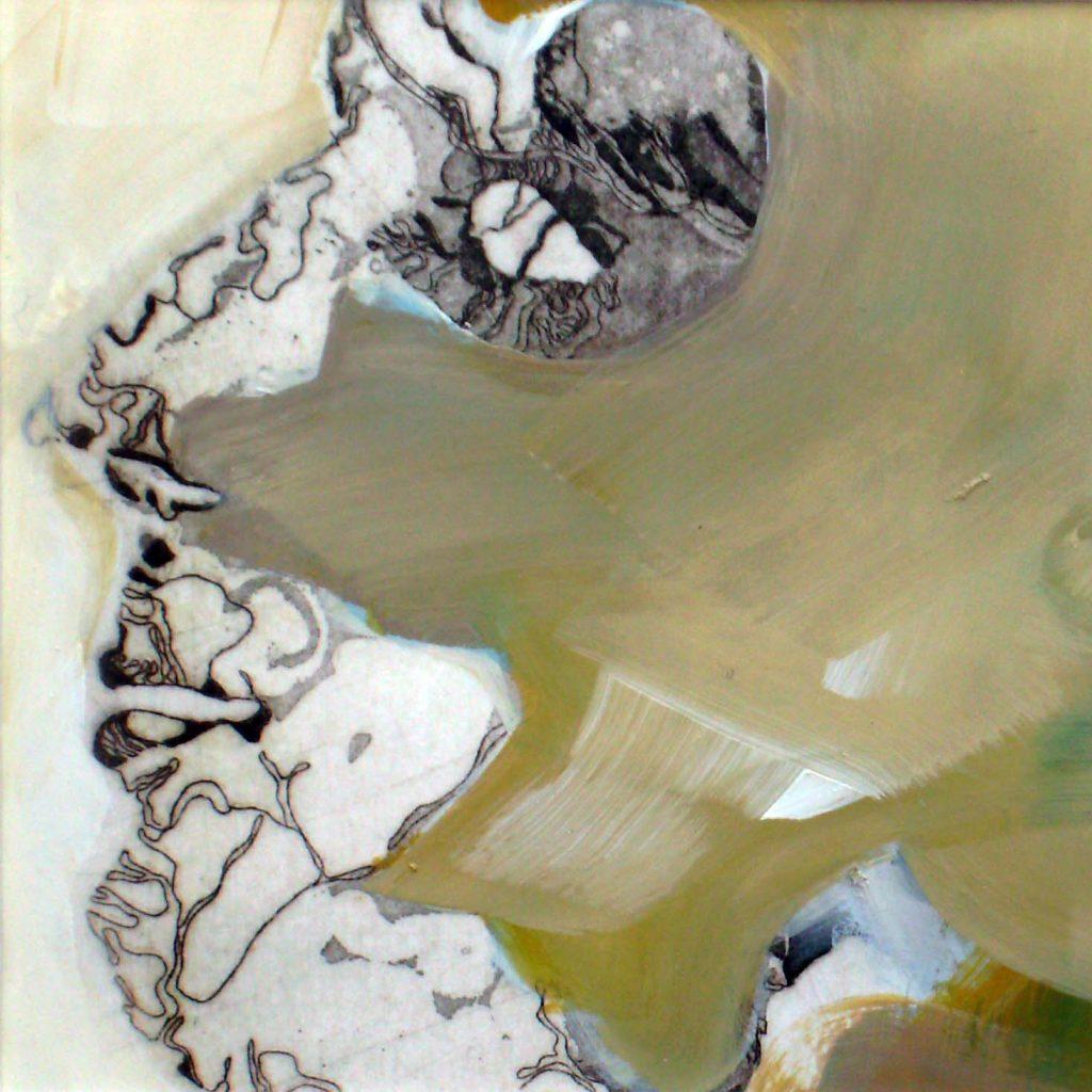 Face, 20 x 20 cm, Mischtechnik, 2008