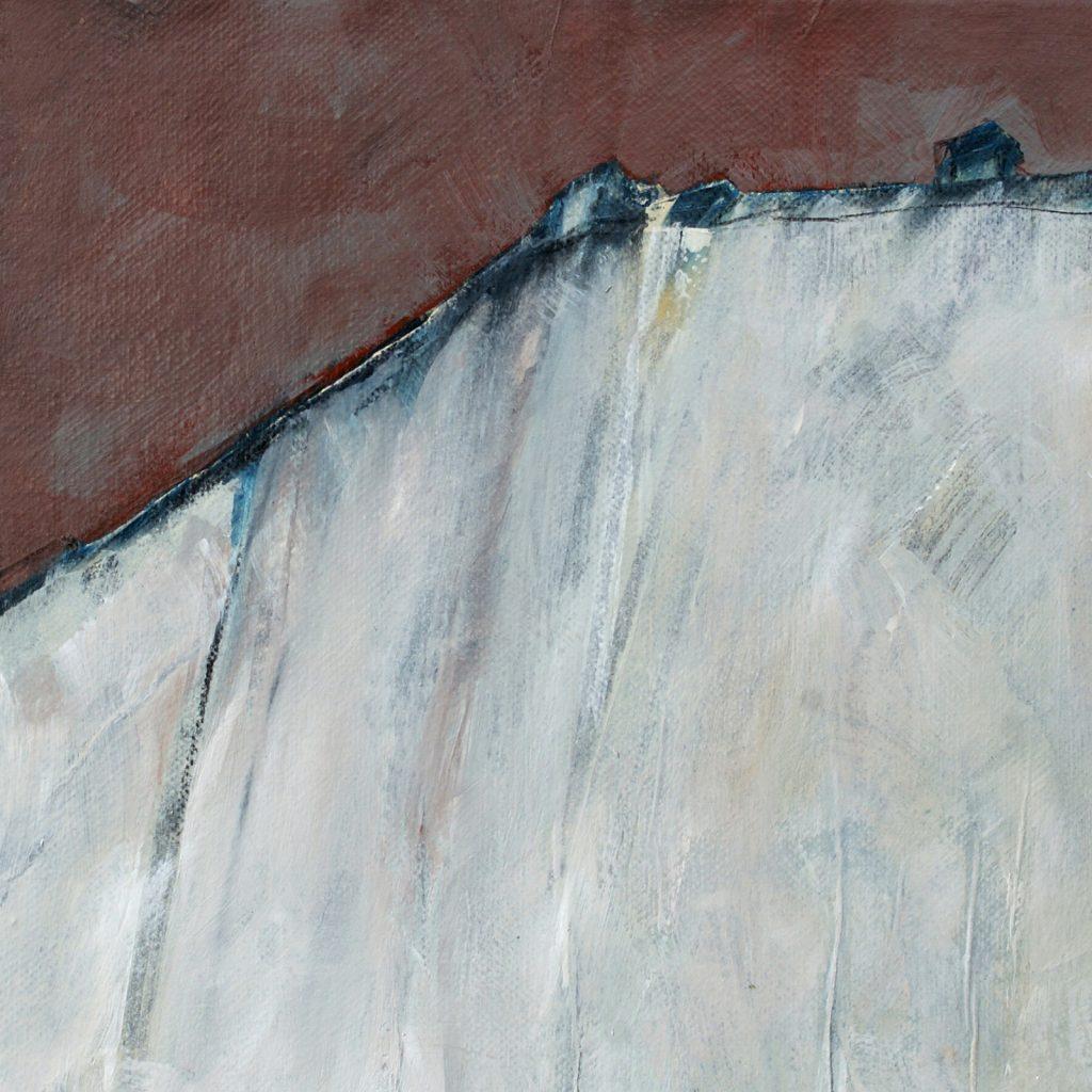 Horizont, 20 x 20 cm, Mischtechnik, 2012