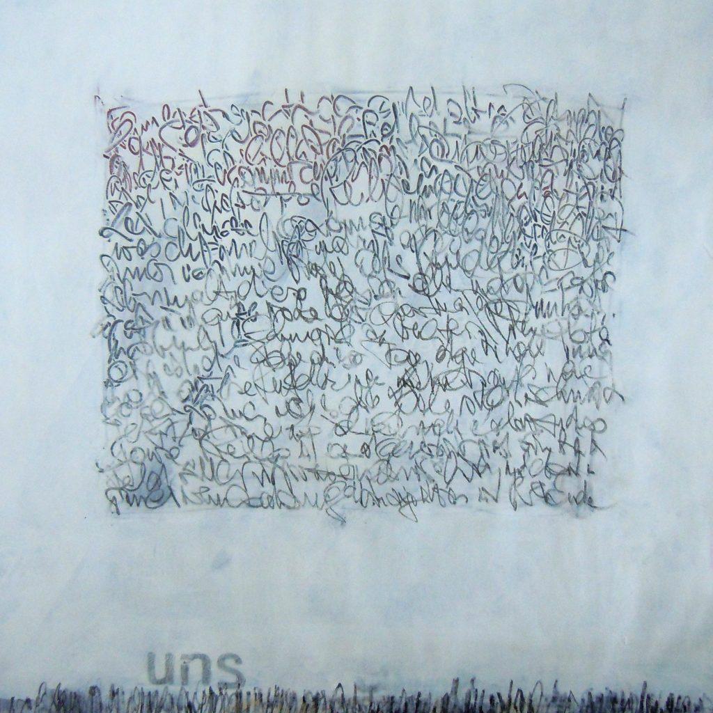Kunst, 30 x 30 cm, Mischtechnik, 2017