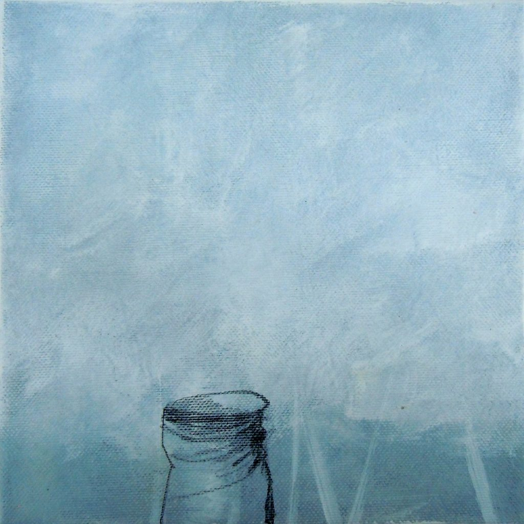 Lebensräume 11, 20 x 20 cm, Mischtechnik, 2015