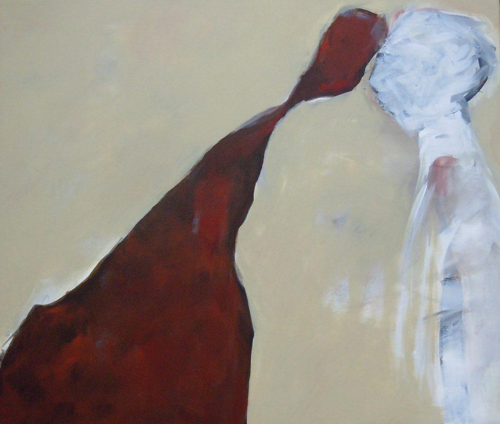 Lebensräume 2, 60 x 70 cm, Acryl auf Leinen, 2015