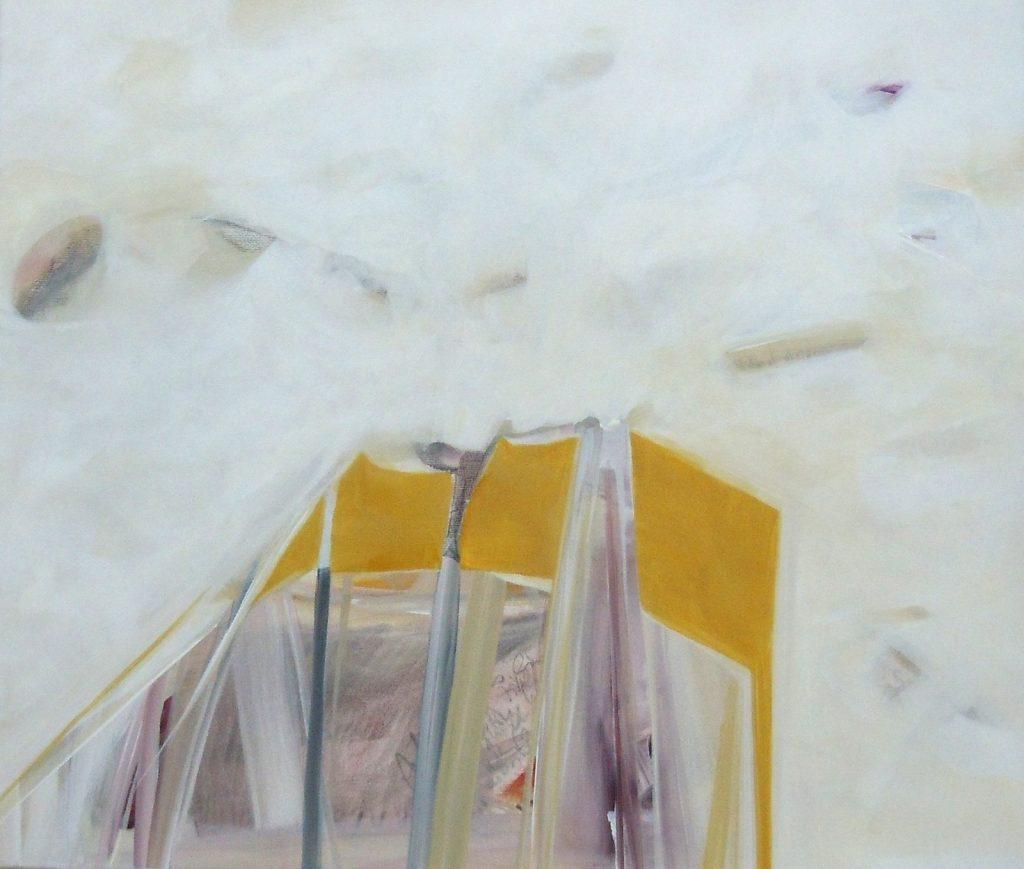 Lebensräume 7, 60 x 70 cm, Acryl auf Leinen, 2015