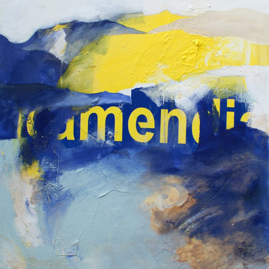 Männerwelt, 50 x 50 cm, Mischtechnik, 2010