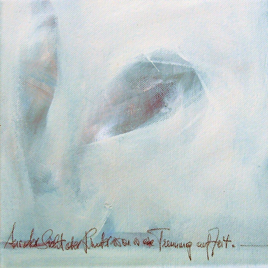 Momente 4, 20 x 20 cm, Mischtechnik, 2013