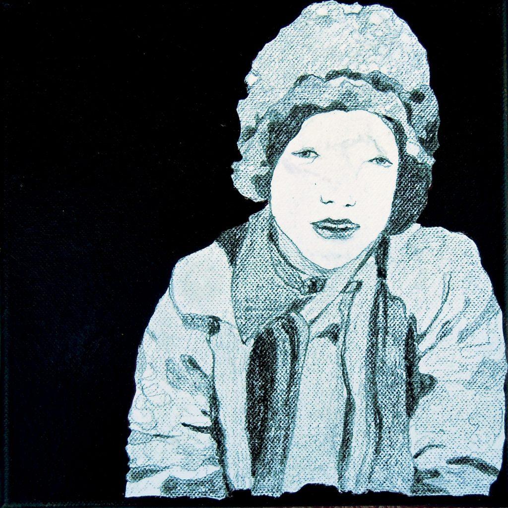 Momente 8, 20 x 20 cm, Mischtechnik, 2013