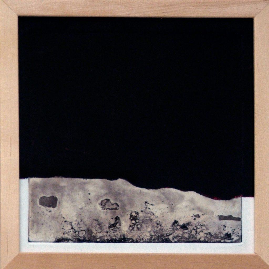 Mondlandung, 20 x 20 cm, Mischtechnik, 2008