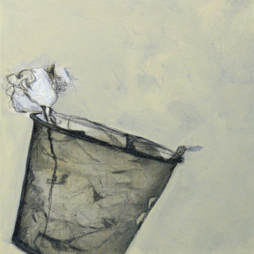 Paperbox, 20 x 20 cm, Mischtechnik, 2012