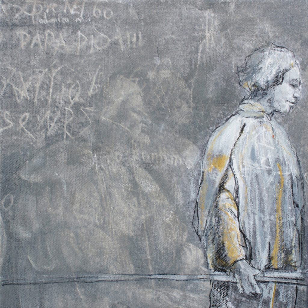 Graffity, 20 x 20 cm, Mischtechnik, 2012