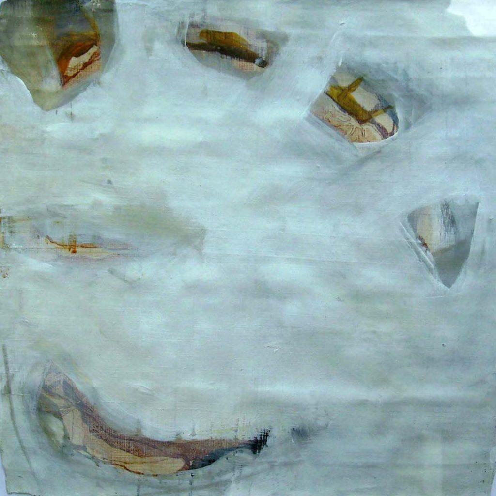 Smile, 20 x 20 cm, Mischtechnik, 2008